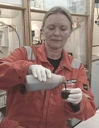 Sonja Øvretveit, laboratorietekniker