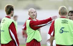 Kaptein Henning Berg er sjef på landslaget. (Foto: Erik Johansen / SCANPIX)