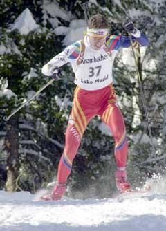 Frode Andresen får ikke gå 20 km i VM. (Foto: AP/Scanpix)