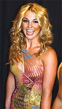 Britney Spears opptrådte under American Music Awards. Foto: Luca Bruno, AP Photo.