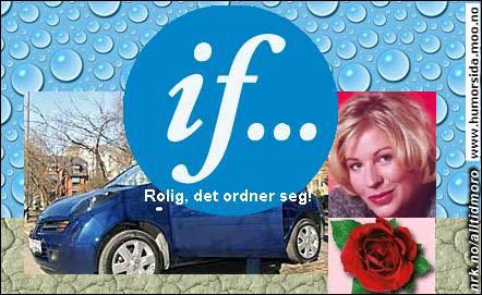 (Innsendt av Veronica, www.humorsida.moo.no)