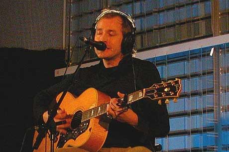 Morten Abel spilte for the world wide web onsdag 12. november. Foto: Espen Sjøttem, nrk.no/musikk.