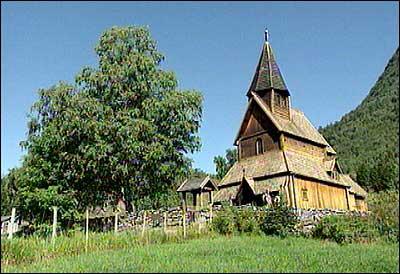 Urnes stavkyrkje er mellom dei fremste kulturskattane i verda. (Foto: NRK)