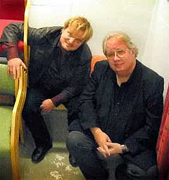 Klare til musikalsk innleggelse: Knut Reiersrud (t.h) og Knut Borge er fra 3. januar aktuelle med