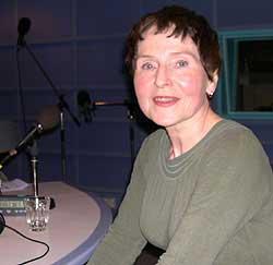 I radiostudio i Østlandssendingen