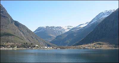 Skjolden. (Foto: NRK)
