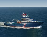 Myklebust verft skal levere to slike skip til den franske kystvakta.
