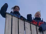 Anna T. Lunestad og Lilliann Skåla frå Rosendal ungdomsskule har hatt arbeidsveke i Norge Rundt-redaksjonen denne veka. Det er dei som har skrive denne artikkelen.
