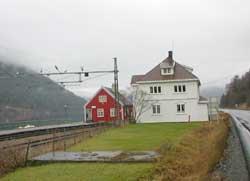 Mæl stasjon er en vesentlig del av Rjukanbanen.