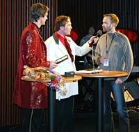 Vidar Brenodden fikk pris for årets beste promo med Reiseradiomyggen. (Foto: Jon-Annar Fordal)