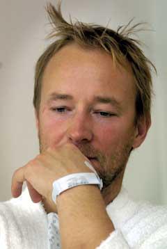 Kjetil Andre Aamodt er ute av sykesengen, men langt fra tilbake i alpinløypa. (Foto: Calle Törnstrøm / SCANPIX)