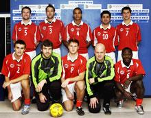 Norges lag i futsal-VM i Paraguay 2003 (Foto: Scanpix)