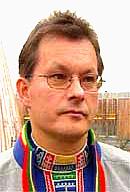 Sametingspresident Sven-Roald Nystø.