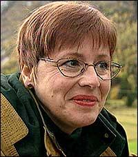 FORNØYD: Undervisningsforbund-leder Helga Hjetland er fornøyd med at medlemmene stemte ja.