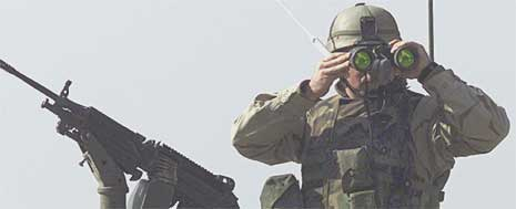 Amerikansk soldat i Irak (Foto: Scanpix)