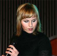 Silje Nergaard ligger fortsatt på P1s A-liste med låten I Don't Want To See You Cry. Foto: Per Ole Hagen