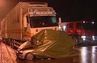 Fire personer omkom i ulykka på Bergshøgda i Brumunddal.
