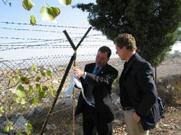 Ron Nachman forklarer Kringkastingssjefen hvorfor det er umulig med en palestinsk stat.