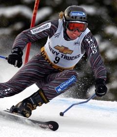 Det kan ta sin tid før Andrine Flemmen konkurrerer igjen. Foto:Alessandro Trovati, AP