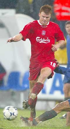 John Arne Riise la inn til Liverpools andre mål. (Foto: Reuters/Scanpix)