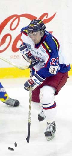 Patric Englund avgjorde kampen for Vålerenga. (Foto: Morten F. Holm / SCANPIX)