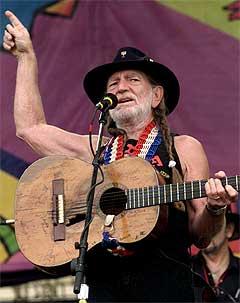 Willie Nelson gjør som han vil. Foto: Steve Chernin, AP.