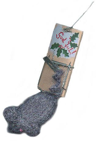 Julemus laget av Anne Karin Lothe.