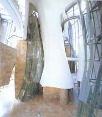 Atrium med glassheis. Foto: Guggenheim Foundation.