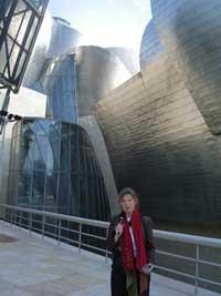 Programskaping foran Guggenheim.