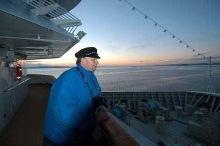 Trond Østgaard, president i Østenfjeldske Hurtigrutevenner. Foto: Ingar Holm