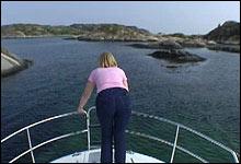 Skiglade Ellen er lokket til båtferie på Sørlandet.
