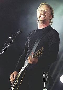James Hetfield og Metallica innrømmer at de forandrer seg både menneskelig og musikalsk. De vil at fansen skal godta dette. Foto Carl Redhead / SCANPIX.