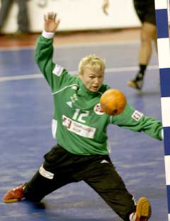 Cecilie Leganger er ettertraktet i Danmark. (Foto: Morten Holm / SCANPIX)