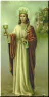 St. Barbara er alle artilleristers helgen.