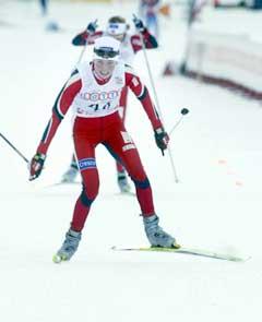 Kristin Murer Stemland kom på 11. plass (Foto: Jon Eeg / SCANPIX)