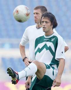 Zlatko Zahovic har spilt 77 landskamper for Slovenia. (Foto: AP/Scanpix)