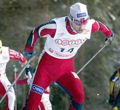 Kristen Skjeldal ble beste norske på 4. plass. (Foto: Jon Eeg / SCANPIX)