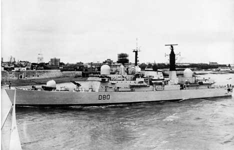 INGEN LEKKASJER: Britene hevder at ingen av de båtene som ble senket under Falklandskrigen hadde atomvåpen ombord. Dette fester argentinske myndigheter liten lit til. (Foto: AFP Photo)