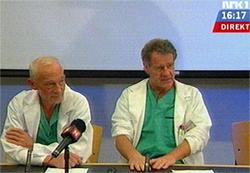 Legene på Rikshospitalet melder at det stadig går fremover med kongen. (Foto: NRK)