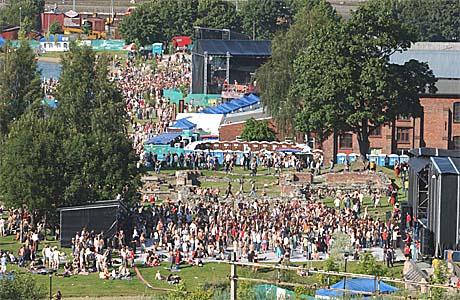 Øya 2004 i Middelalderparken utvider med en ekstra dag. Foto: Heiko Junge, Scanpix.