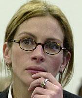 Julia Roberts likte IKKE spørsmålene fra nysgjerrige journalister(Arkivfoto: AP/Scanpix)