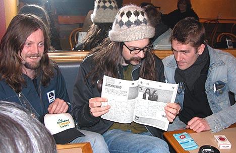 Motorpsycho har forundret og forvirret den japanske presse en smule på sin Japan-turné. Foto: Leif Gjerstad.
