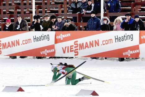 Olena Zubrilova falt fra gullet på 15 km i VM sist sesong. (Foto: Heiko Junge / SCANPIX)