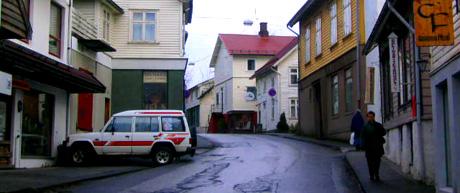 Borggata i Lerivik. Foto: Jan Harald Larsen