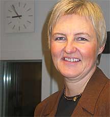 Kulturminister Valgerd Svarstad Haugland vil ikke være noe pynteforkle. Foto: NRK