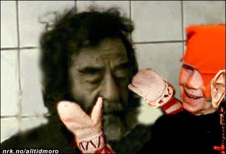 Bilde fra pågripelsen av skjegget.