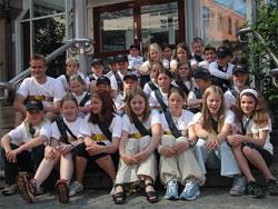 Klasse 7b ved Ulsmåg skole ved Nesttun i Bergen. Foto: Camilla Mobakk, Nysgjerrigper.