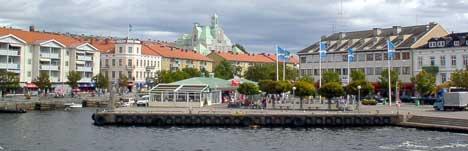 Strömstad er ikke lenger like populært blant nordmenn. (Foto: Rainer Prang, NRK)