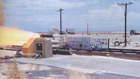 Styreseksjonen i Penguin testes av U.S. Air Force i New Mexico