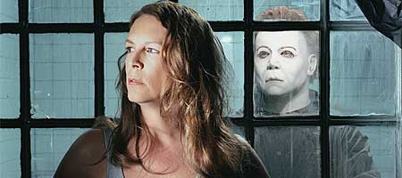 "Jamie Lee Curtis i ""Halloween Resurrection""."